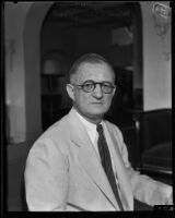 John Perry Wood has been nominated to be a member of the State Bar Association, Los Angeles County, 1933