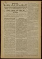 Deutsches Nachrichtenbüro. 3 Jahrg., Nr. 1656, 1936 December 10, Nacht-Ausgabe