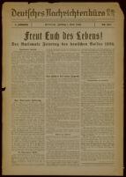 Deutsches Nachrichtenbüro. 3 Jahrg., Nr. 554, 1936 May 1