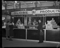 Globe Mills exhibit at the Food and Household Show, Los Angeles, 1932