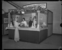 La Sierra Industries exhibit at the Food and Household Show, Los Angeles, 1932