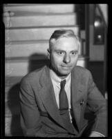 Portrait of Dr. W. F. Meyer, Los Angeles, 1935