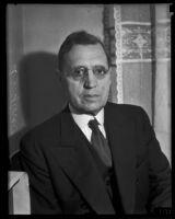 A.J. Glover visits Los Angeles, 1934