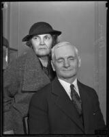 Oklahoma senator Thomas Pryor Gore and his wife Nina Belle Kay