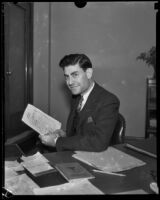Los Angeles Civil Service Commission Manager, Glenn Gravatt, Los Angeles, 1928-1939