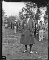 Professional golfer Charlie Guest on a course, 1924-1938