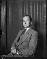 Portrait of actor Creighton Hale, Los Angeles