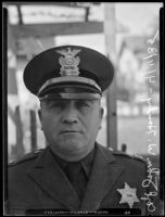 Sheriff Deputy John W. Hanby, Los Angeles, 1935