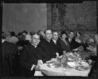Archbishop Edward J. Hanna at a gala event