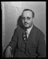 Portrait of Bertram P. Hargrave, 1935