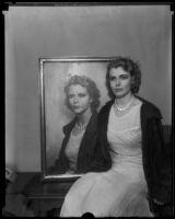 Portrait of Artists' and Models' Club president Doris Harman,1933-1939