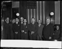 Newly appointed federal attorneys and their fathers, Los Angeles, 1932