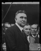 President William P. Jeffries of the Jonathan Club, Los Angeles, 1923-1935
