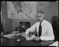 Superintendent of Charities Earl E. Jensen, Los Angeles, 1933-1934