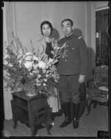 Prince and Princess Kaya of Japan at the Ambassador Hotel, Los Angeles, 1934