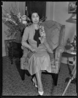 Princess Kaya of Japan at the Ambassador Hotel, Los Angeles, 1934
