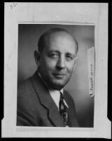 Los Angeles County Supervisor Roger W. Jessup, Los Angeles, 1932-1939