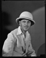 Portrait of director and author Emory Johnson, Los Angeles, 1940