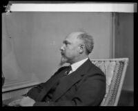 Count Hermann Keyserling, visiting German scholar, Los Angeles, 1928