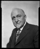 New York educator Dr. Robert L. Kelly, Los Angeles, 1927
