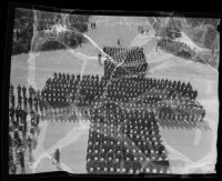 Knights Templar parade, Pasadena, 1935