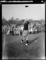 Charley Lacey ends the game with a score of 71, Philadelphia, 1934