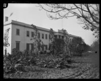 Exterior view of the Lark Ellen Home for Boys, Sawtelle (Los Angeles), 1924