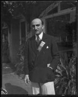 Dr. Samuel A. Levine, professor of medicine, Pasadena, 1932