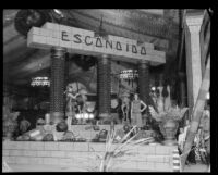 Escondido booth at the Los Angeles County Fair, Pomona, 1929