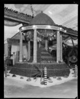 National Orange Show booth at the Los Angeles County Fair, Pomona, 1929