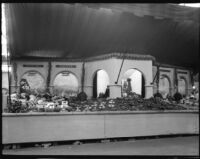 Ventura County display at the Los Angeles County Fair, Pomona, 1933