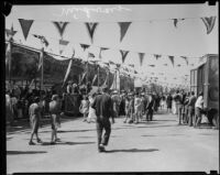 Midway at the Los Angeles County Fair, Pomona, 1933