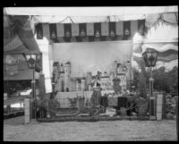 La Habre agricultural exhibit displays at the Los Angeles County Fair, Pomona, 1930