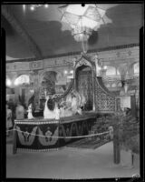 Pasadena Chamber of Commerce booth at the Los Angeles County Fair, Pomona, 1932