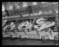 Sunkist display at the Los Angeles County Fair, Pomona, 1932