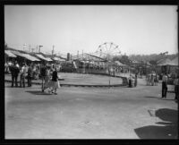 Outdoor view of the Los Angles County Fair, Pomona, 1932