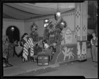 Los Amigos Rancho display at the Los Angeles County Fair, Pomona, 1932
