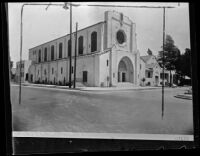Vermont First Methodist Episcopal Church, Los Angeles, circa 1920-1939