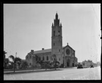Wilshire Boulevard Congregational Church, Los Angeles, circa 1925-1930