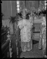 Bishop Robert E. Lucey, Los Angeles, ca. 1932