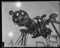 Zeiss Mark II Planetarium Projector at the Griffith Observatory, Los Angeles, circa 1935