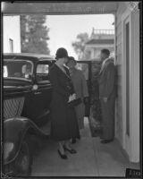 Murder suspect Nellie Madison, Burbank, ca. 1934