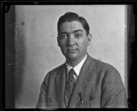Portrait of caricaturist Henry Major, Los Angeles, 1925