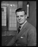 British airline executive George Marriner comes to Southland, Los Angeles, 1935