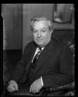 Senator Pat McCarran visits Los Angeles, 1935