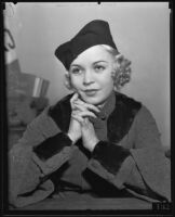 Betty McMahan divorces drunk husband, Los Angeles, 1934