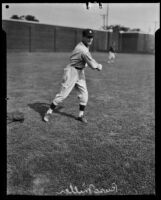 Former Philadelphia Phillies pitcher Russ Miller, Southern California, 1929