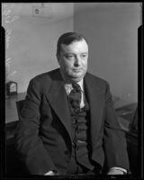 "James A. ""Foghorn"" Murphy, Los Angeles, 1933"