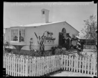 Honeymoon Cottage at the National Housing Exposition, Los Angeles, 1935