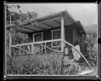 Beverly Glen summer cottage where J. Belton Kennedy was murdered (copy), Los Angeles, ca. 1921